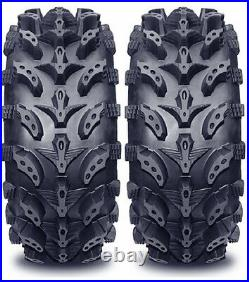 Pair 2 Interco Swamp Lite 24x8-12 ATV Tire Set 24x8x12 SwampLite 24-8-12