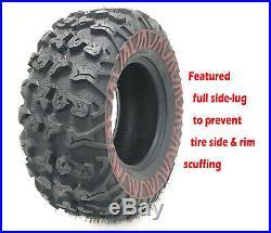 FREE COUNTRY 8PR Premium ATV Tires 25x8-12 /& 25x11-12 fit 02-06 Arctic Cat 500//500i 4x4