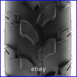 SunF 21x7-8 ATV UTV Tires 21x7x8 All Terrain Tubeless 6 PR A003 Set of 2