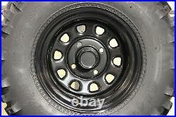 Yamaha Big Bear 350 25 Kenda Bear Claw Atv Tire Itp Black Atv Wheel Kit Srad